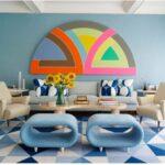 ترکیب رنگ های مدرن در دکوراسیون داخلی